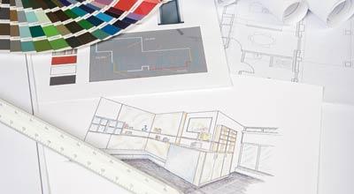 individuelle wohnraum u kuchenplanung